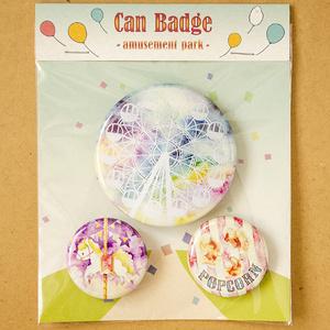 Can Badge -amusement park-
