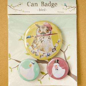 Can Badge -bird-