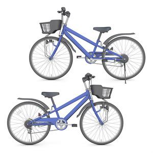 【3D素材】マウンテンバイク 子ども用