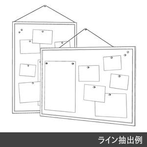 【3D素材】コルクボード