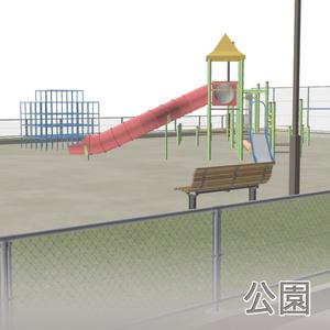 【3D素材】公園