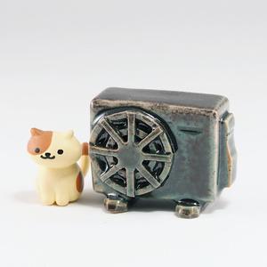 エアコン室外機フィギュア【ヒスイ】