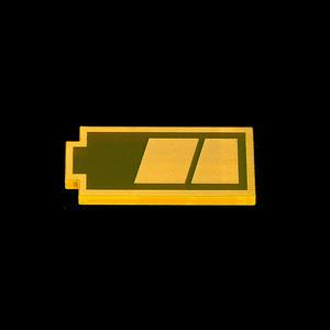 【びっくりガチャ】バッテリーアイコンフィギュア