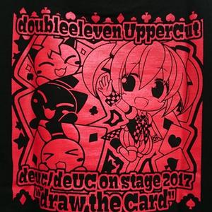 draw the CardライブTシャツ