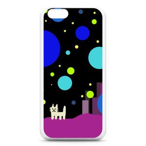 iPhone6,6sケース おねこさんの宇宙都市