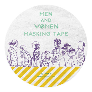 MEN and WOMEN マスキングテープ
