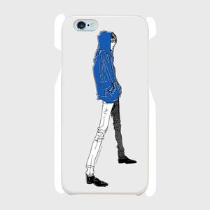 """""""Blue"""" いけめんファッショニスタ iPhone ケース"""