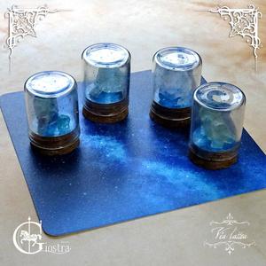 星空のミニ鉱物標本(小)-via lattea-