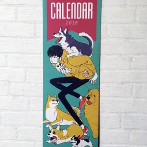 2018カレンダー/CALENDAR