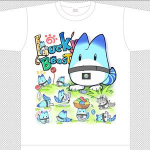 パーク内の売店で売ってたボスTシャツ【ラッキービースト】