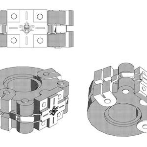 ゴッドイーター2腕輪3D素材