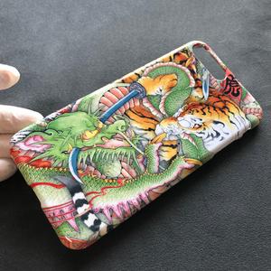 『龍虎図』和柄 iPhone 8Plus・7Plusケース