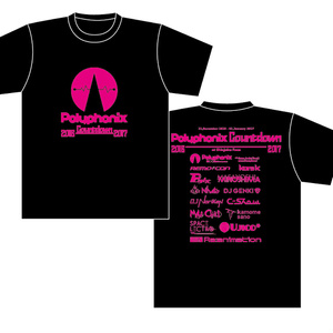 Polyphonix Countdown Official T-Shirt