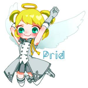 天使ちゃんプリッド♡アクリルバッジ