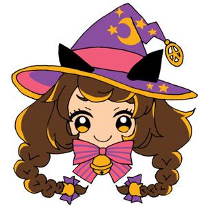魔女っ子エンビー♡刺繍ストラップ
