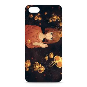 iPhoneケース(オリジナル/海月と女の子)