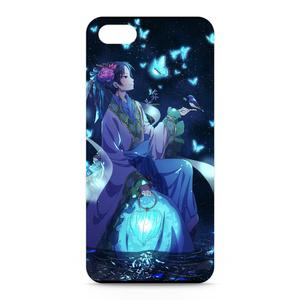 iPhoneケース(鬼徹/神獣の蒼い送り灯)