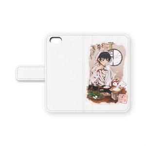 手帳型iPhoneケース(鬼徹・白澤冬)