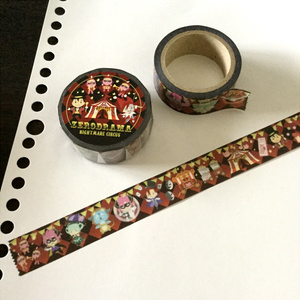 【ぜろどらま!】コシュまるナイトメアサーカス マスキングテープ