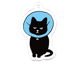 猫のアクリルキーホルダー