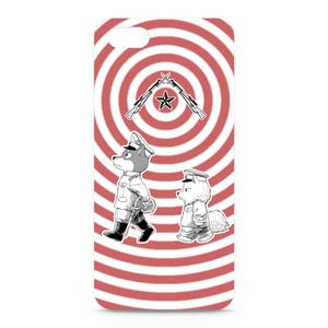 [巻きシッポ帝国]パッチと茶々iPhone5ケース