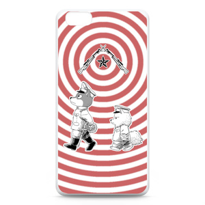 [巻きシッポ帝国]パッチと茶々iPhone6 Plusケース