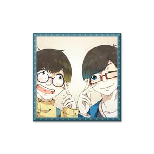 眼鏡松さん缶バッジ :筋肉松ver(カラ松×十四松)