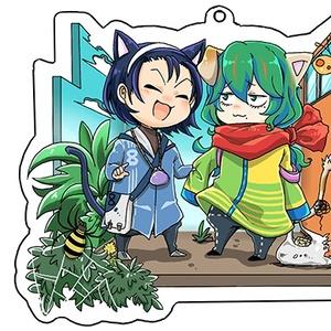 アクキー(猫東巻)