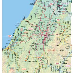 旅に出たくなる路線図 東日本