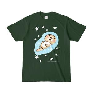 ラッコさんプカプカTシャツ(フォレスト)