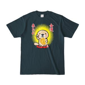 ラッコさん開運Tシャツ(デニム)