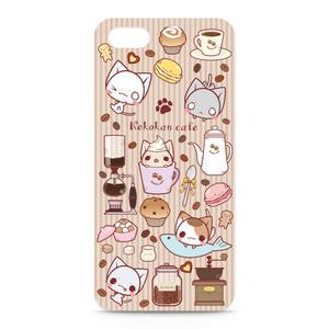 ねこかんカフェiPhone5/SEケース