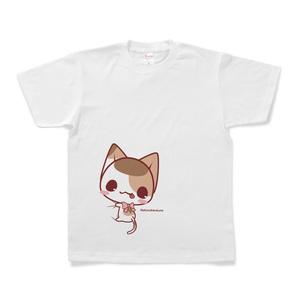 ぎゅーっとみけにゃんTシャツ