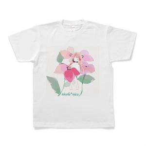 少女(Pink)Tシャツ