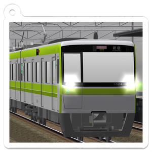 神速鉄道S1000R系アクリルキーホルダー
