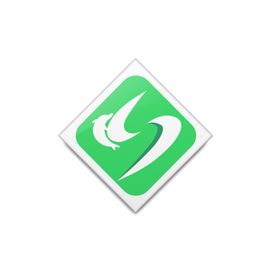 神速鉄道ロゴマーク缶バッジ