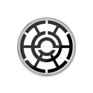 某社のロゴマークピンバッジ