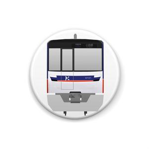 関東高速鉄道6000系缶バッジ