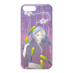 鸚哥と小鬼iPhoneケース