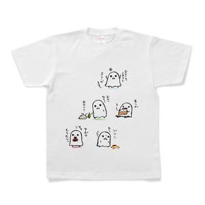 お菓子とおばけTシャツ