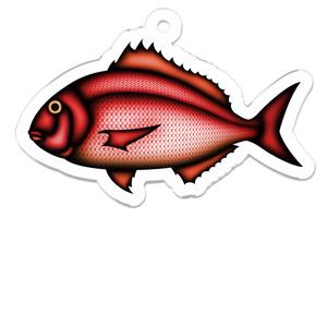 アクリルキーホルダー 真鯛