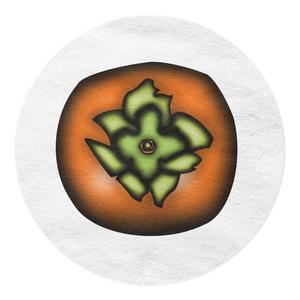 マスキングテープ 柿