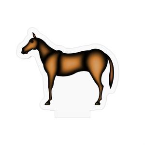 アクリルフィギュア 馬