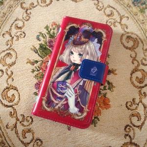 手帳型iPhoneケース - iPhone 8 / 7 「祝装エレナ」