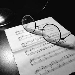 楽譜眼鏡拭き(タイトルなし)