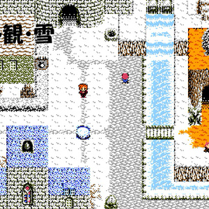 ファミコン風RPG基本マップ素材セット