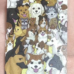 祝戌年★30犬種ポストカード