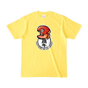 パチ7 3周年Tシャツ(シンプルver.)