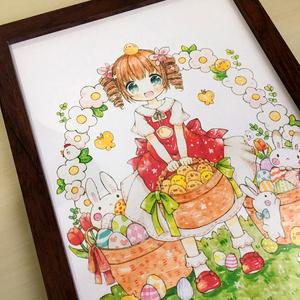ぴよぴよイースター(ポストカード/B5)