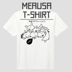 めあうさTシャツ/白